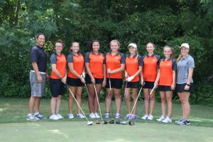 2016-2017 UHS Girls Golf Team