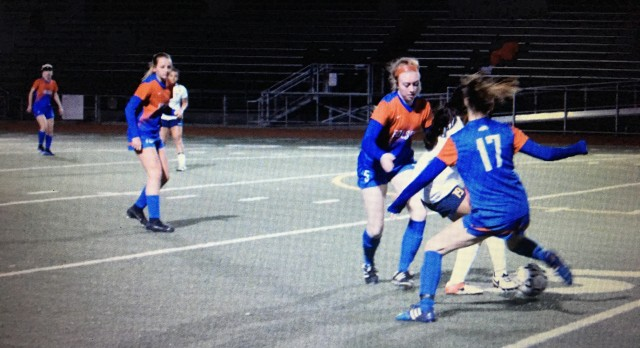 Folsom High School Girls Varsity Soccer beat Turlock – Section Playoff Game 2-0