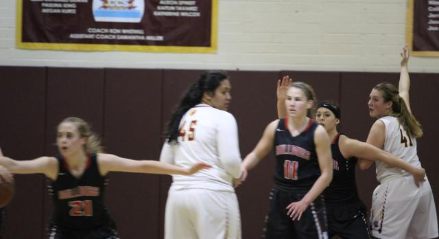 Folsom High School Girls Varsity Basketball beat Menlo-Atherton – NorCal Playoff Game 2 57-40
