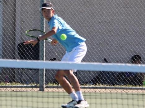 Folsom High School Boys Tennis Wins @nd Round of Section Championships vs Napa on 5/5/17