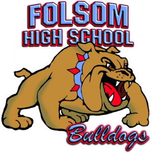 Bulldog-Full Body with Folsom High name