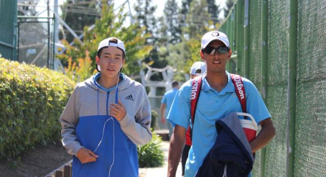 Folsom High School Boys Tennis  qualifies 2 for Section Singles Playoffs