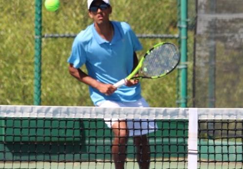 Folsom High School Boys Tennis Athlete, Chethan Swanson Wins the Div. I Section Singles Championships!