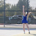 17-18 Girls Tennis vs Granite Bay 9-21-17 #4