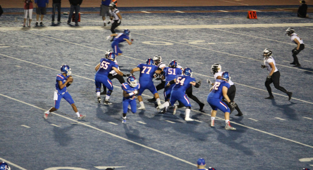 Folsom Varsity Football defeats Del Oro – Game 54-10