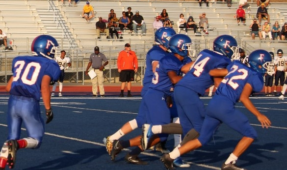 Folsom High School Freshman Football falls to Nevada Union – Game 48-25