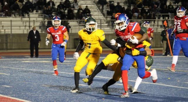 Folsom High School Varsity Football beat Tracy 56-21