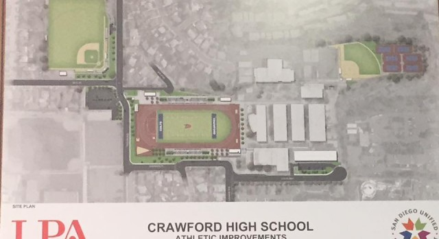 New Fields for Crawford High School