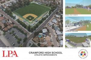 New baseball field