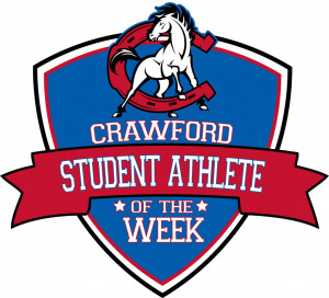 crawford student athlete of the week