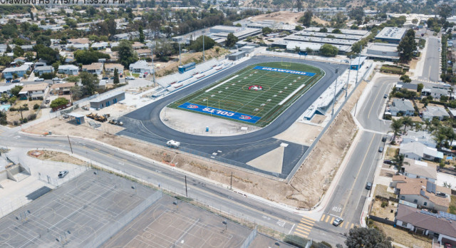 Construction Update—Aerial View