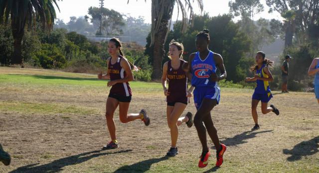 Monae Jones wins her first race-Boys win their 3 league meets
