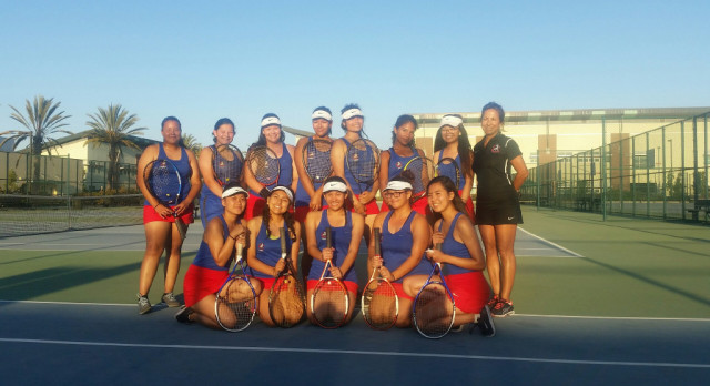 Girls Tennis League Champions