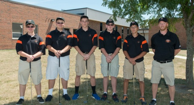 The Tigers Boys Golf Team Competed in OHSAA Sectional Match Today