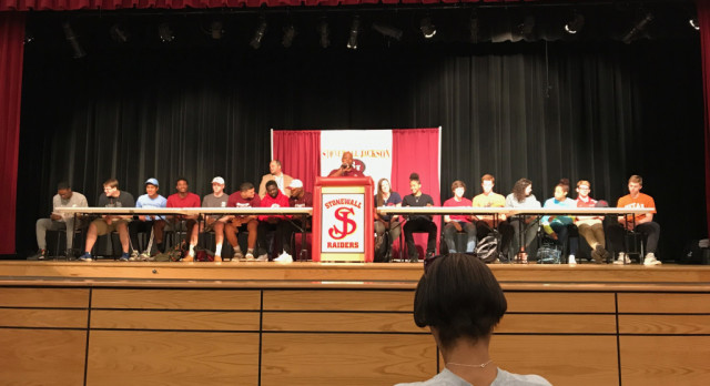 College Signing Ceremony – CONGRATULATIONS!