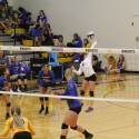 Varsity Volleyball-Caldwell Cougars at the Bishop Kelly Knights