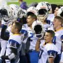 Varsity Football-Caldwell Cougars at the Middleton Vikings