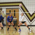 Varsity Volleyball-Caldwell Cougars at the Vallivue Falcons