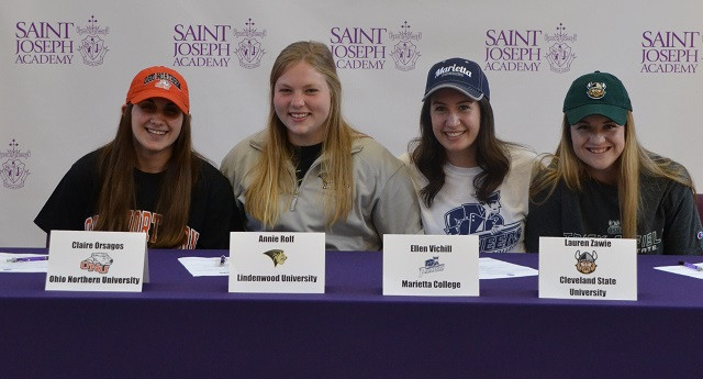 Four SJA Student-Athletes Commit to Colleges
