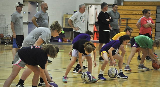 SJA Basketball Father/Daughter Clinic – October 2