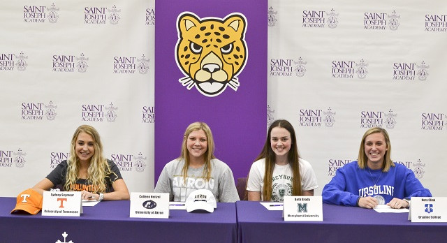 Four Student-Athletes Make College Commitments