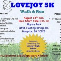 CITY OF LOVEJOY 5K