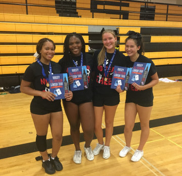 DeLaSalle Cheerleaders Recognized