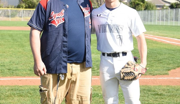 Mr. Fulk Throws Out First Pitch, Vikings Win 7-4.