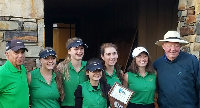 Incline High School Girls Varsity Golf finishes 1st place