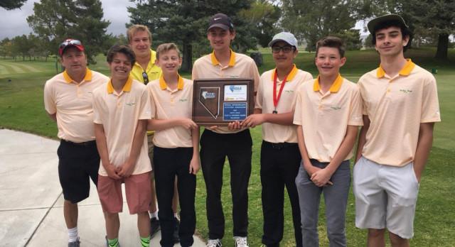 Incline High School Boys Varsity Golf finishes 1st place
