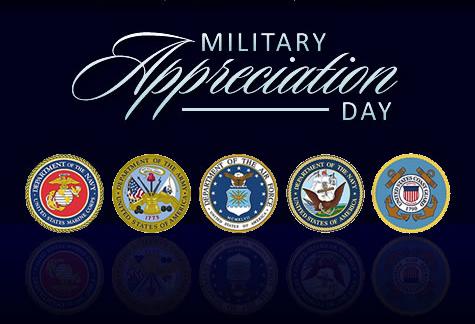 Military Appreciation Night – Jan. 20th