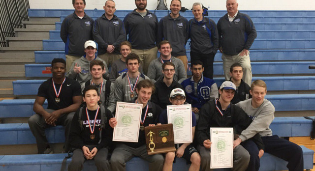 Liberty Wrestling Team Wins District Title & Sends 10 to State!