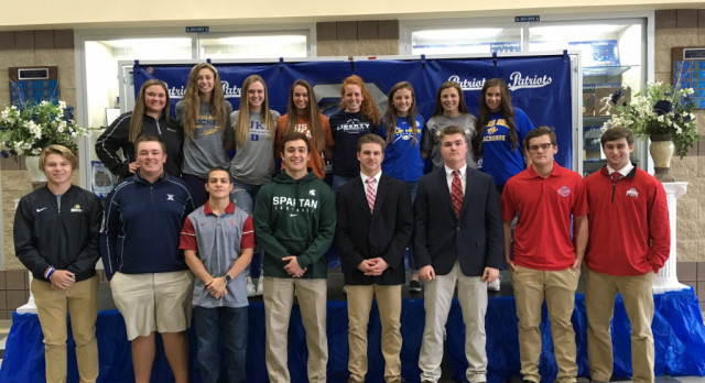 16 Patriots Sign Early National Letters of Intent
