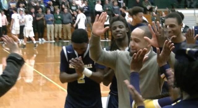 Boys Basketball wins a thriller to beat #2 Seed Elyria Catholic