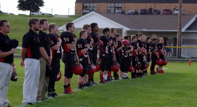 Addison Middle School Football beat Manchester Flying Dutchmen 24-16