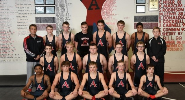 Three Addison Wrestlers Place at State Tournament