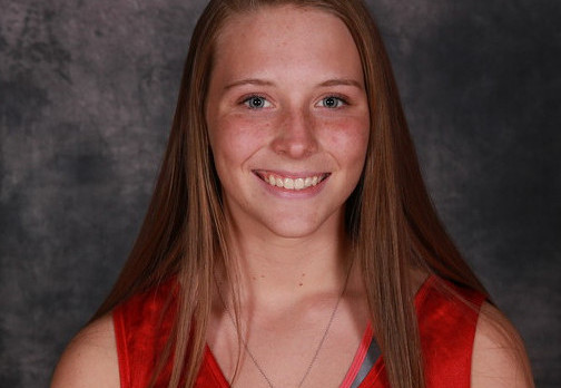 Ally McLouth breaks School Record in 300 Hurdles
