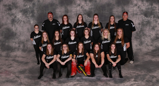 Addison High School Varsity Softball falls to Quincy Orioles 12-1