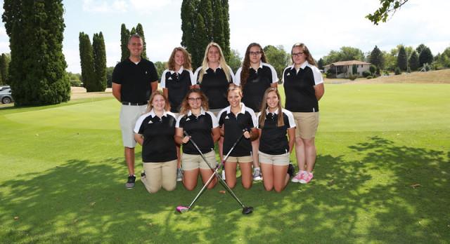 Addison High School Girls Varsity Golf finishes 6th place