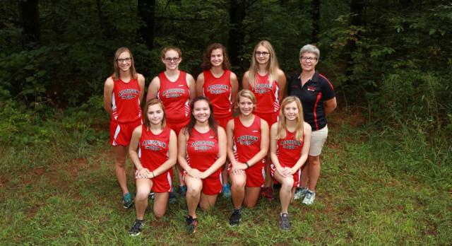 Lady Panthers Cross Country finish 9th at Homer Invite