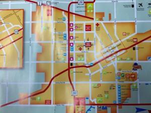 Map of GI