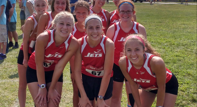 Adams Central High School Girls Varsity Cross Country finishes 4th place