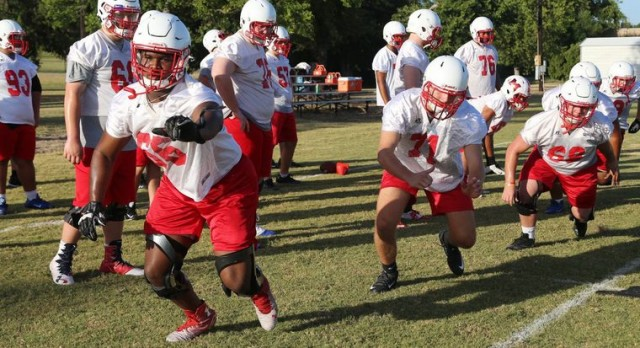 Plenty of excitement for Midway, Waco High, University as fall practice begins