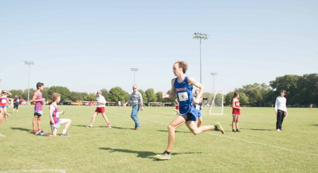 District 8-6A Cross Country Meet on 10/20/2016