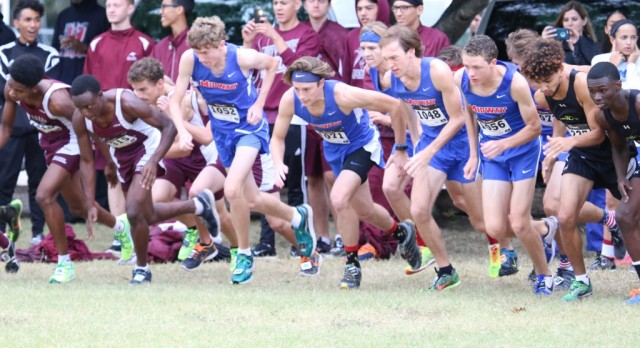 District 8-6A Cross Country Results