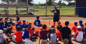 One of seven youth league clinics put on by Coach Cornblum.