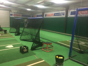 Indoor hitting facility gets a new makeover.