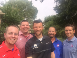 Coaching Staff with Brian Cain - The country's peak performance coach