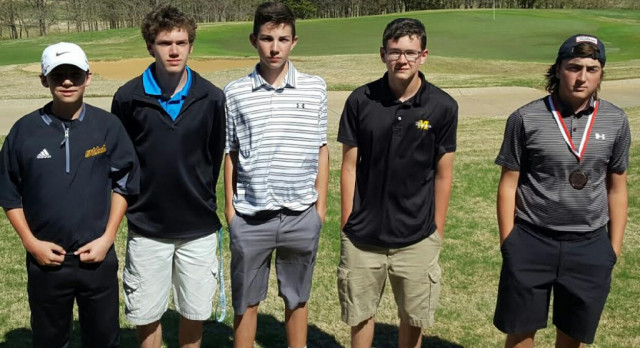 Holder Reaches Top Ten for Boys Golf Squad at Chickasaw Pointe Thursday; Girls Gain Fifth at Dickson Tournament