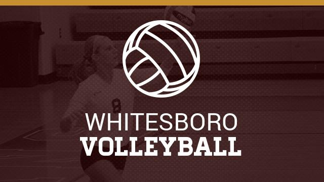 Whitesboro High School Girls Varsity Volleyball beat Ponder High School 3-2